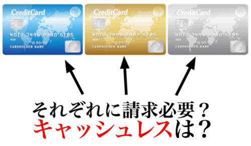 カード付帯保険複数、キャッシュレス診療の場合は?