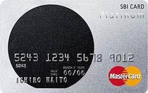 SBIプラチナカード画像