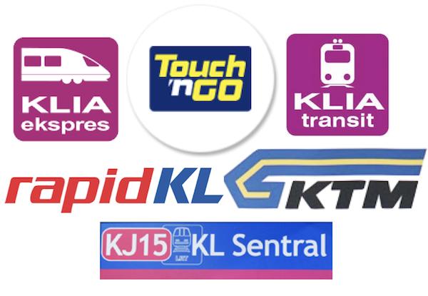 クアラルンプールのクレジットカード払いできる公共交通機関