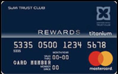 Sumiトラストクラブリワードカード